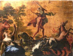 Enlèvement de Perséphone par Hadès